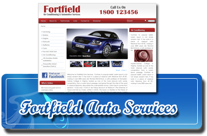Forfield Auto Services Website